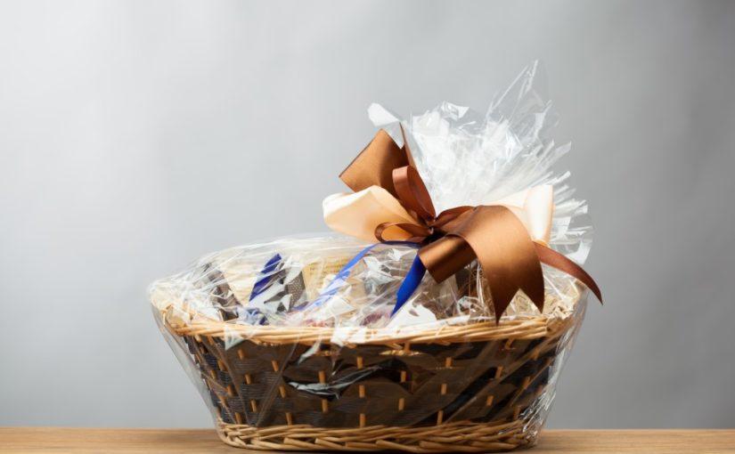 Gavekurv med lækkerier